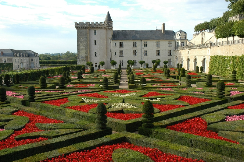 Castillo de villandry escapadas en francia for Les jardins en france